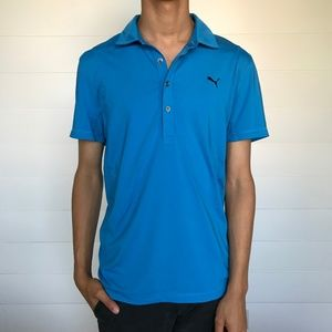 Puma Dri Fit Coolmax Golf Polo Medium